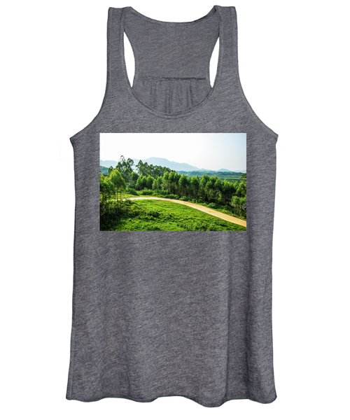 The Path In The Mountain Women's Tank Top