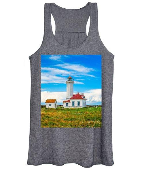 The Point Wilson Lighthouse Women's Tank Top