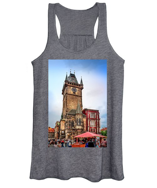 The Prague Clock Tower Women's Tank Top