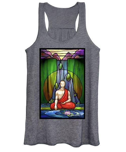 The Praying Monk Women's Tank Top