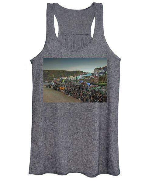 The Quay At Staithes Women's Tank Top