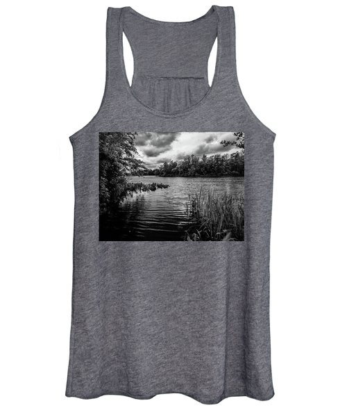 The Rancocas River Landscape Women's Tank Top