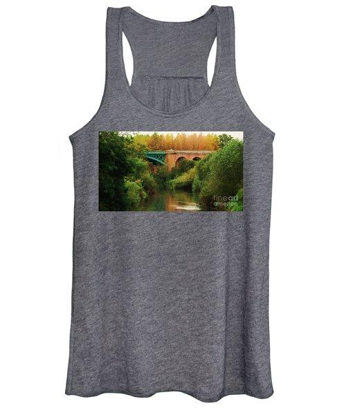 Bridge Over The River Derwent Women's Tank Top