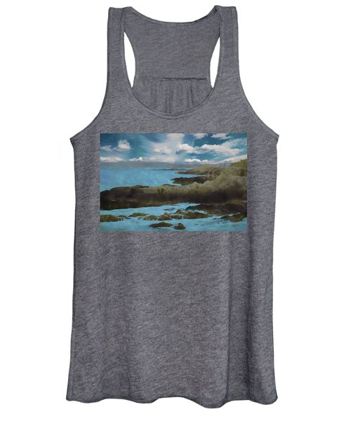 The Rocky Maine Coast. Women's Tank Top