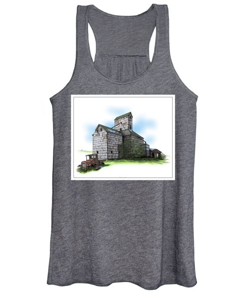 The Ross Elevator Spring Women's Tank Top