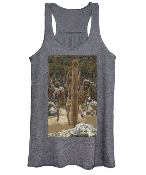 The Scourging On The Back Women's Tank Top