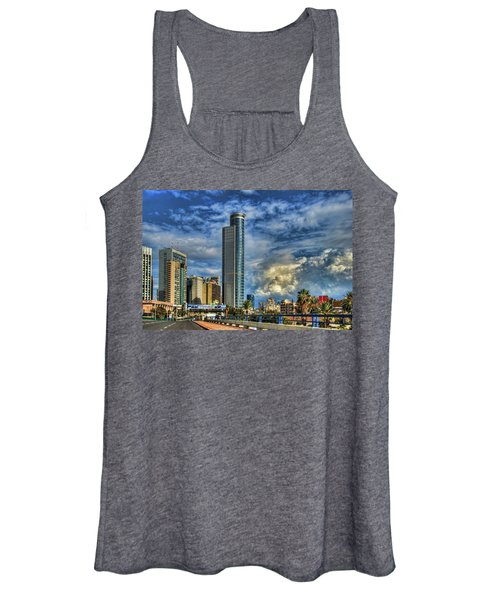 The Skyscraper And Low Clouds Dance Women's Tank Top