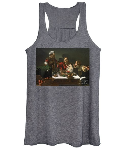 The Supper At Emmaus Women's Tank Top