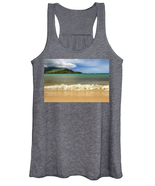 The Surf At Hanalei Bay Women's Tank Top