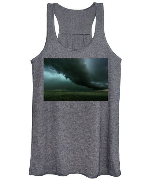 The Tail Of The Storm Women's Tank Top