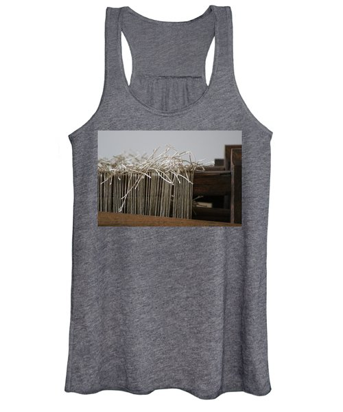The Tales We Weave In Sepia Photograph Women's Tank Top