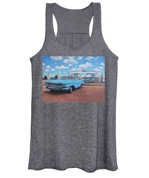 The Teepee Motel, Route 66 Women's Tank Top