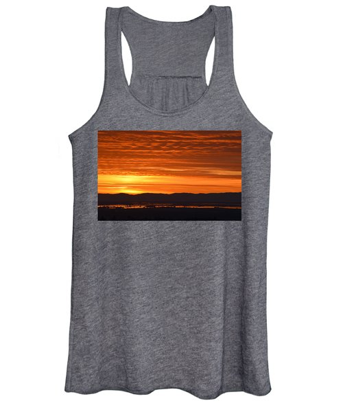 The Textured Sky Women's Tank Top