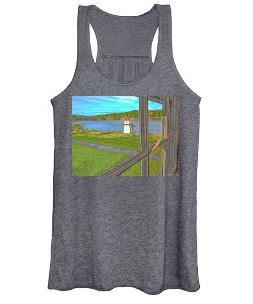 The Thin Line Between Real And Imagined Women's Tank Top