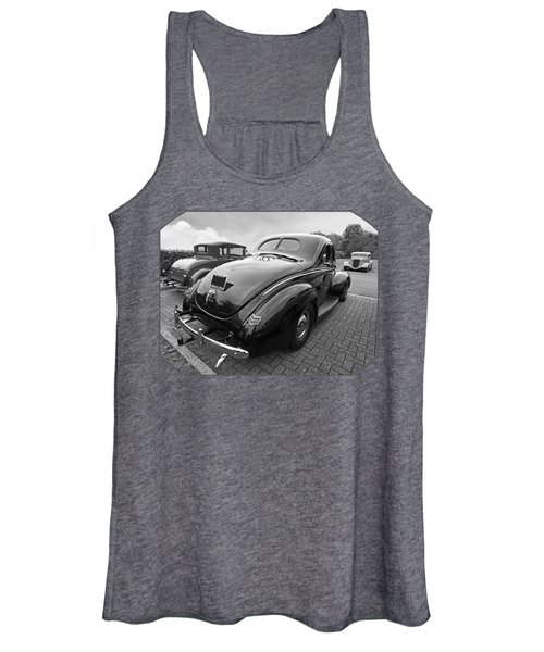 The Three Amigos - Hot Rods In Black And White Women's Tank Top