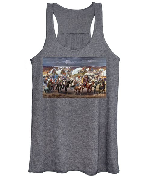 The Trail Of Tears Women's Tank Top