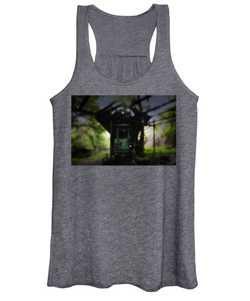 The Tram Leaves The Station... Women's Tank Top