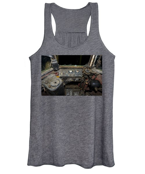 The Tram Leaves The Station... Instruments Women's Tank Top