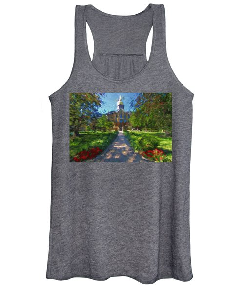 The University Of Notre Dame Women's Tank Top