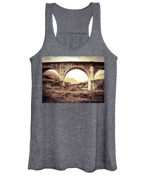 The Viaduct And The Loch Women's Tank Top
