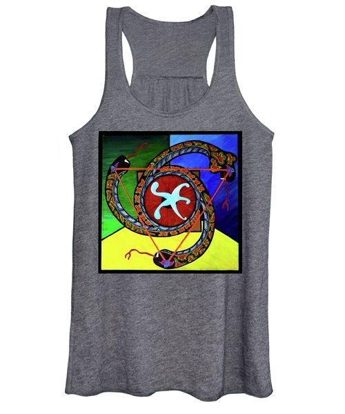 The Vitruvian Serpent Women's Tank Top