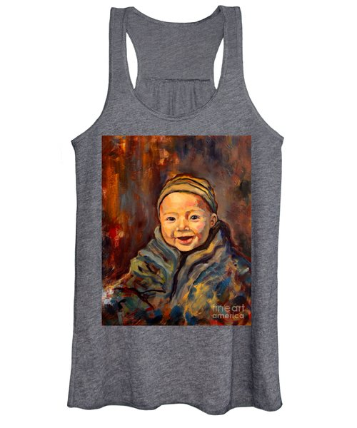 The Warmth Of Winter Women's Tank Top