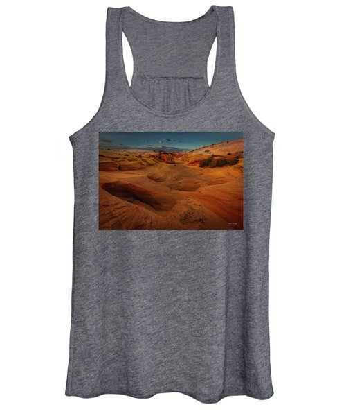 The Wash Of Subtle Shapes And Colors Women's Tank Top