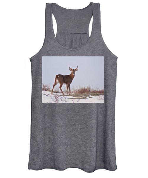 The Watchful Deer Women's Tank Top