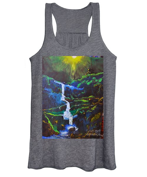The Waterfall Women's Tank Top