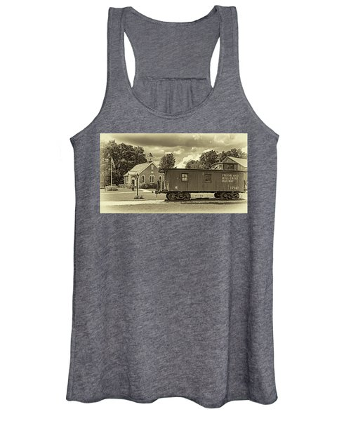 The Way We Were - Sepia Women's Tank Top