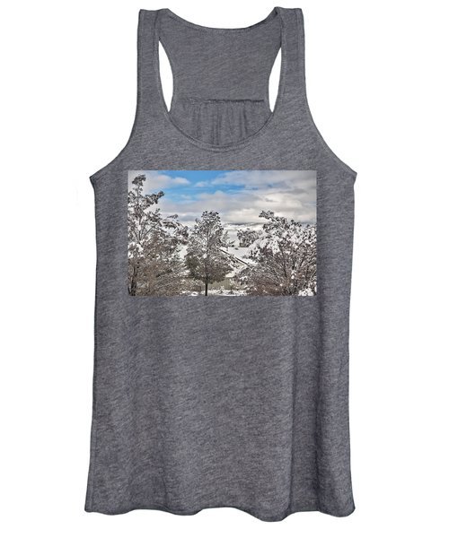 The Weight  Of Snow Women's Tank Top
