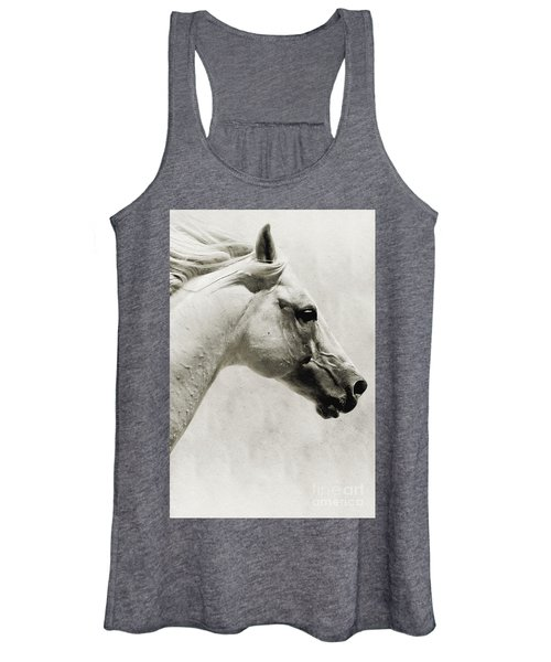 The White Horse IIi - Art Print Women's Tank Top