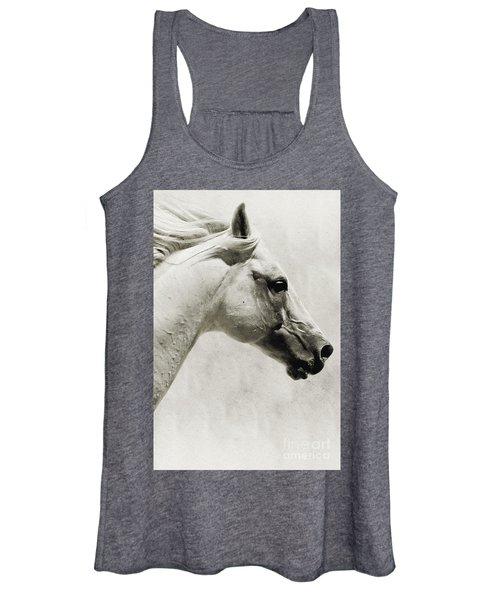 The White Horse IIi - Art Print Women's Tank Top