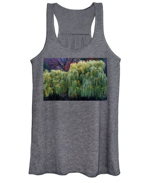 The Willows Of Central Park Women's Tank Top