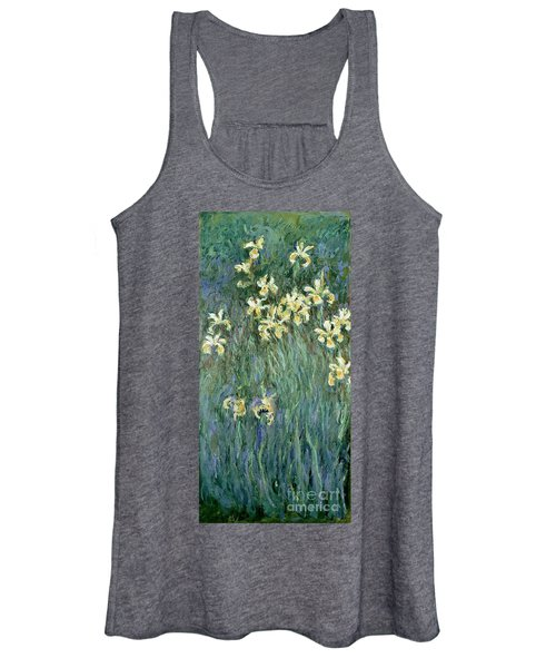 The Yellow Irises Women's Tank Top