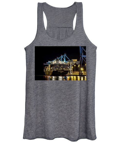 The Ym Movement Panama Unloading In The Port Of Tacoma Women's Tank Top