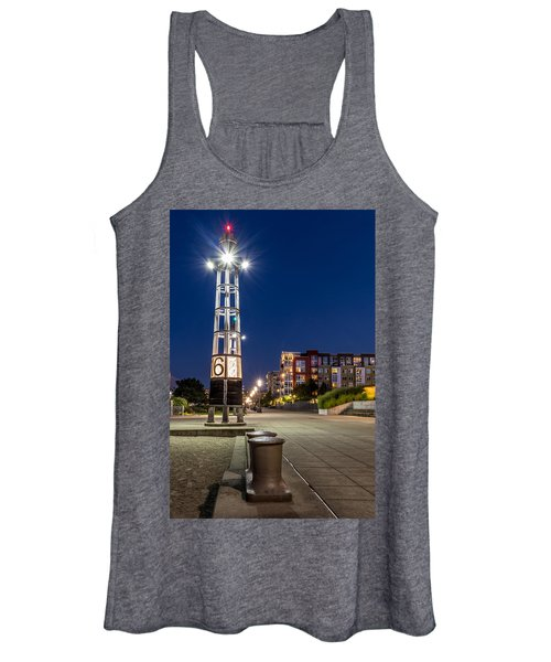 Thea's Landing Boardway During Blue Hour Women's Tank Top