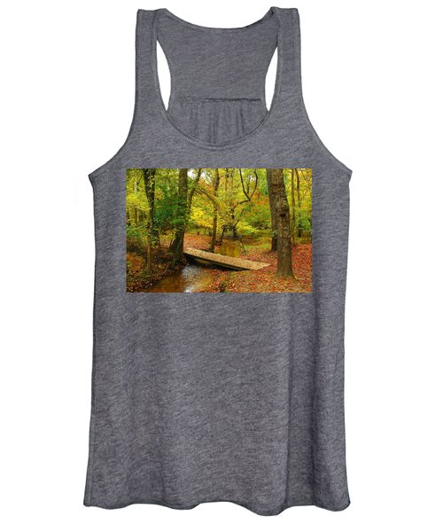 There Is Peace - Allaire State Park Women's Tank Top