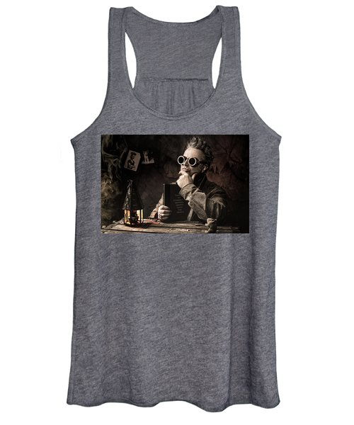 Things To Consider - Steampunk - World Domination Women's Tank Top