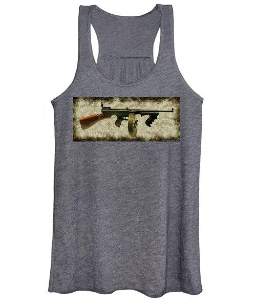Thompson Submachine Gun 1921 Women's Tank Top