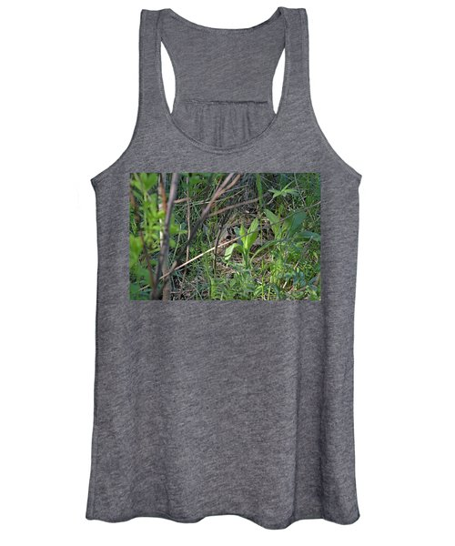 Those Velvet Eyes That Betray Its Camouflage Of The Nesting Woodcock Women's Tank Top
