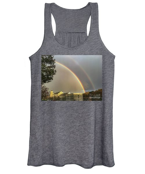 Thread City Double Rainbow  Women's Tank Top