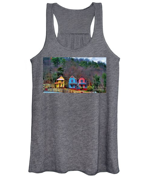 Three Houses Hot Springs Ar Women's Tank Top