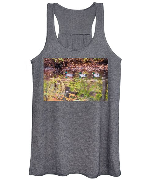 Three Mallards. Women's Tank Top