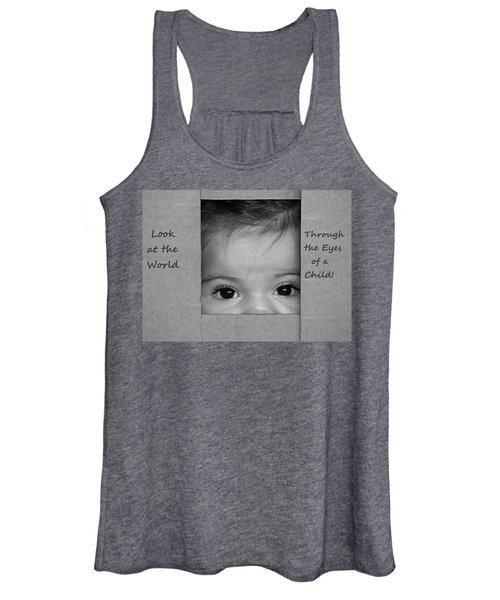 Through The Eyes Of A Child Women's Tank Top