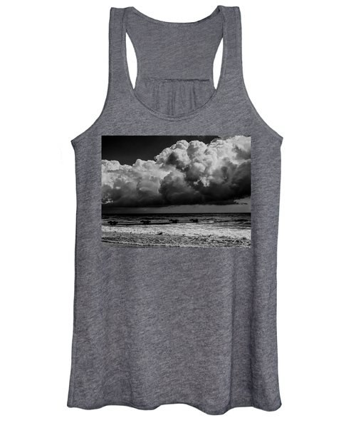 Thunder Head By The Sea Women's Tank Top