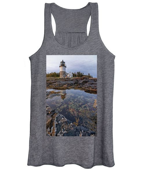 Tide Pools At Marshall Point Lighthouse Women's Tank Top
