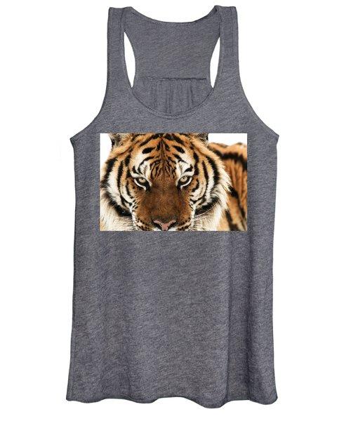 Tiger Eyes Women's Tank Top