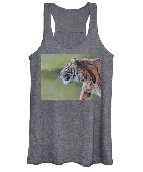 Tiger Portrait Women's Tank Top