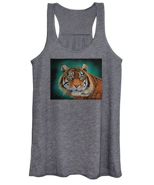 Tiger Portrait......amur Tiger Women's Tank Top